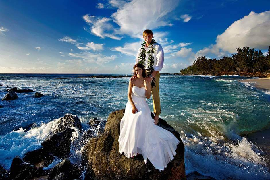 Oahu hawaii family photographer nohie basic oahu wedding or vow renewal package 695 junglespirit Images